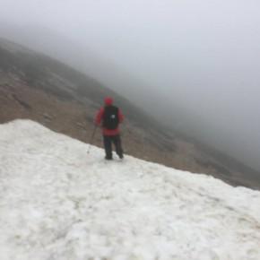 軍経験出身者と登山をした結果・・・・20mの暴風雨の中を12時間歩くことに