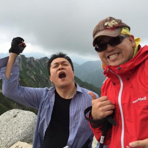 2800m燕岳に登りました!